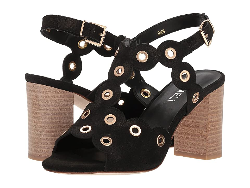 Vaneli Berton (Black Rory Suede/Gold Trim) Women