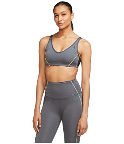 Nike Favorite Vintage Vinyasa Bra (Black/Particle Grey/Off Noir/Black) Women