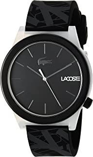 Lacoste Men's 'Motion' Quartz Plastic and Rubber Casual Watchmulti Color (2010937), Analog Display
