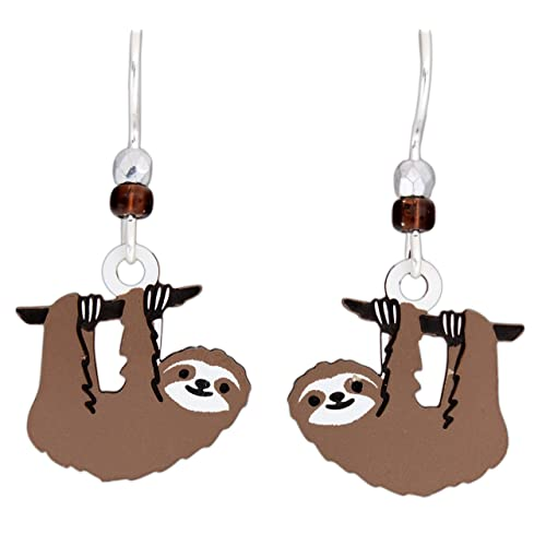 33a6291f7 Sienna Sky Hypo-Allergenic Animal Sterling Silver Plated French Hook Ear  Wire Earrings