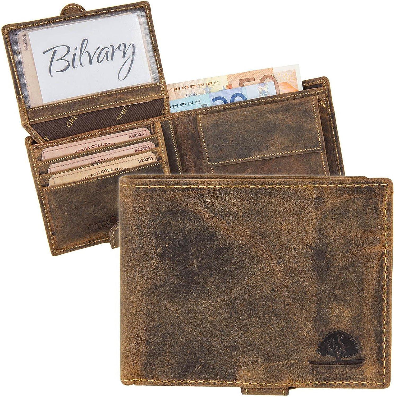 Grün Burry Vintage Vintage Vintage Geldbörse 1705, Braun, Einheitsgröße B018H13HT4 568118