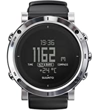 SUUNTO Core Brushed Steel Orologio, Nero/Silver