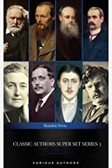 Classic Authors Super Set Series: 3 (Shandon Press): Agatha Christie, H. G. Wells, Fyodor Dostoyevsky, Victor Hugo.... Kindle Edition