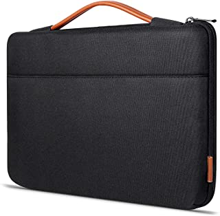 Inateck 14-14.1 Inch Laptop Sleeve Case Briefcase Compatible with 14-14.1'' Laptop,15'' Macbook Pro 2018/2017/2016, Notebooks, Chromebooks, Black