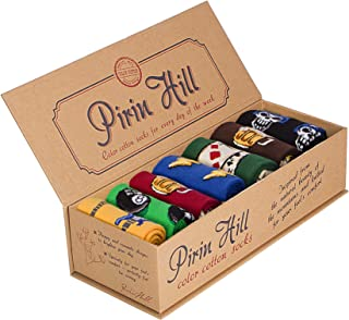 Pirin Hill, Calcetines para mujer (7 colores, algodón)