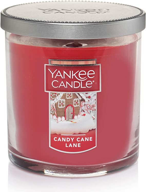 Small Tumbler Candles Set of 2 NEW TAGS Yankee Candle CANDY CANE LANE SCENT