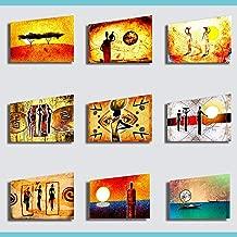 Quadri Moderni Stampa su Tela Canvas cm 120x60 Quadro Moderno Etnico Africa 15