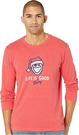Life is Merry Good Crusher Long Sleeve T-Shirt