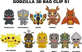 Godzilla Classic 3D Foam Bag Clip in a Blind Bag