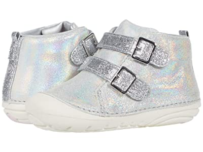 Stride Rite SM Vera (Infant/Toddler) (Silver) Girls Shoes
