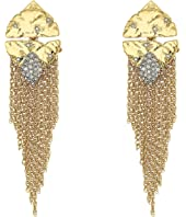 Alexis Bittar - Rocky Medallion Post Earrings