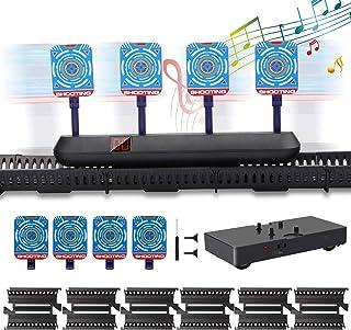 Innoo Tech Nerf Cible de tir en Cours D'exécutio,Mobile Scores de Réinitialisation Automatique Électroniques,Effet Sonore,...