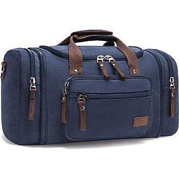 Bleu 20L, 20L WANDF Foldable Travel Duffel Bag Sac de Voyage Pliable Sac de Sport Gym R/ésistant /à leau Nylon