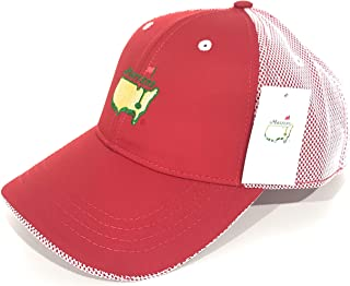 2019 Authentic Red/White Mesh Tech Structured Hat Augusta National