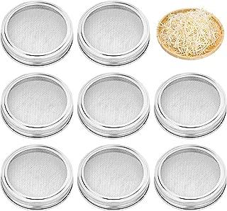 Best mason jar clamp lid Reviews