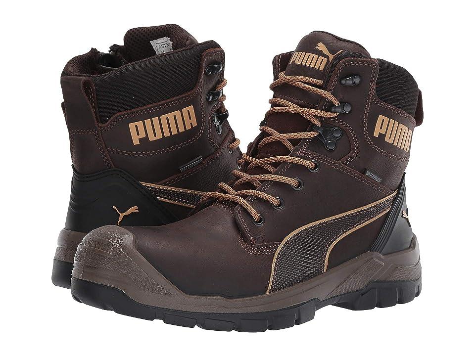 PUMA Safety 7 Conquest Zip WP (Brown) Men