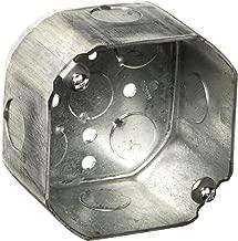 Hubbell-Raco 165 Octagonal Box, 21.5 Cu-in, 4 in Dia X 2-1/8 in D, 4