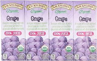 R W Knudsen Organic Grape Juice, 6.75 Fluid Ounce - 28 per case.