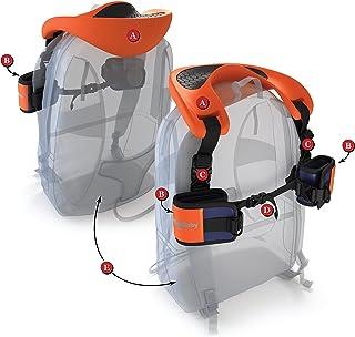 Silla de Montar y Tobilleras para mochila BackPack Uni 4030 SaddleBaby