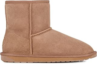 Womens Stinger Mini Winter Real Sheepskin Boots
