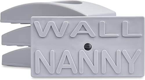 Wall Nanny (4 Pack - Made in USA) Indoor Baby Gate Wall Protector - No Safety Hazard on Bottom Spindles - Small Saver...