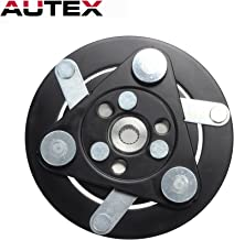 AUTEX AC A/C Compressor Clutch Plate HUB Replacement for HONDA CR-V 2007 2008 2009 2010 2011 2012 2013 2014 07 08 09 10 11 12 13 14 2.4L