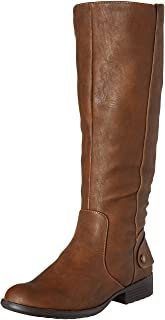 LifeStride Women's Xandywc Riding Boot- Wide Calf