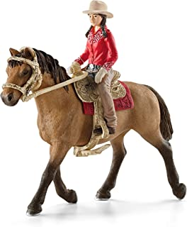 SCHLEICH Western Rider Action Figures, Multicolor