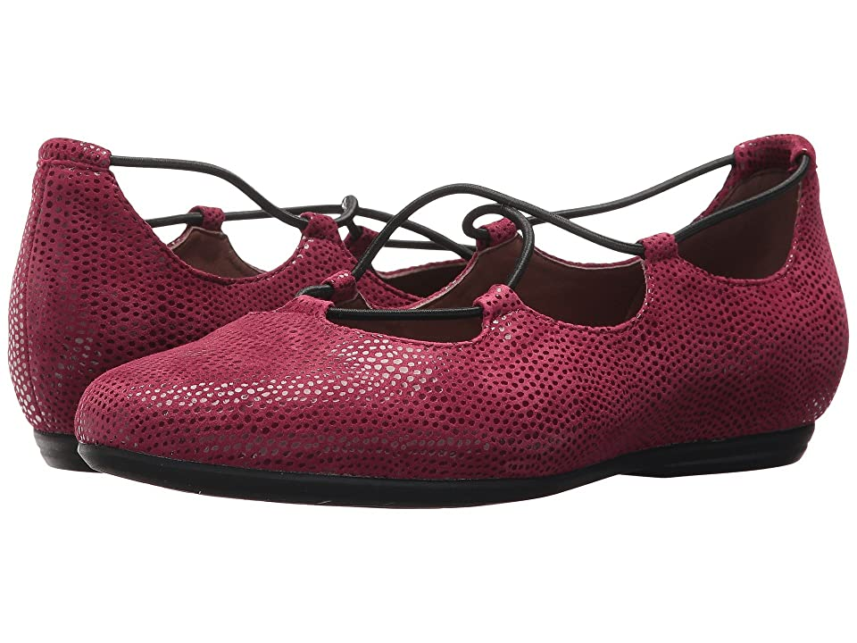 Earth Essen Earthies (Burgundy Printed Suede) Women