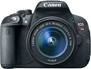 Canon EOS Rebel T5i 18.0 MP Digital SLR Touchscreen Camera Kit with EF-S 18-55mm f/3.5-5.6 IS STM Lens (Renewed)