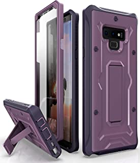 ArmadilloTek Vanguard Designed for Samsung Galaxy Note 9 Case (2018 Release) Military Grade Full-Body Rugged with Built-in Screen Protector & Kickstand (Purple)