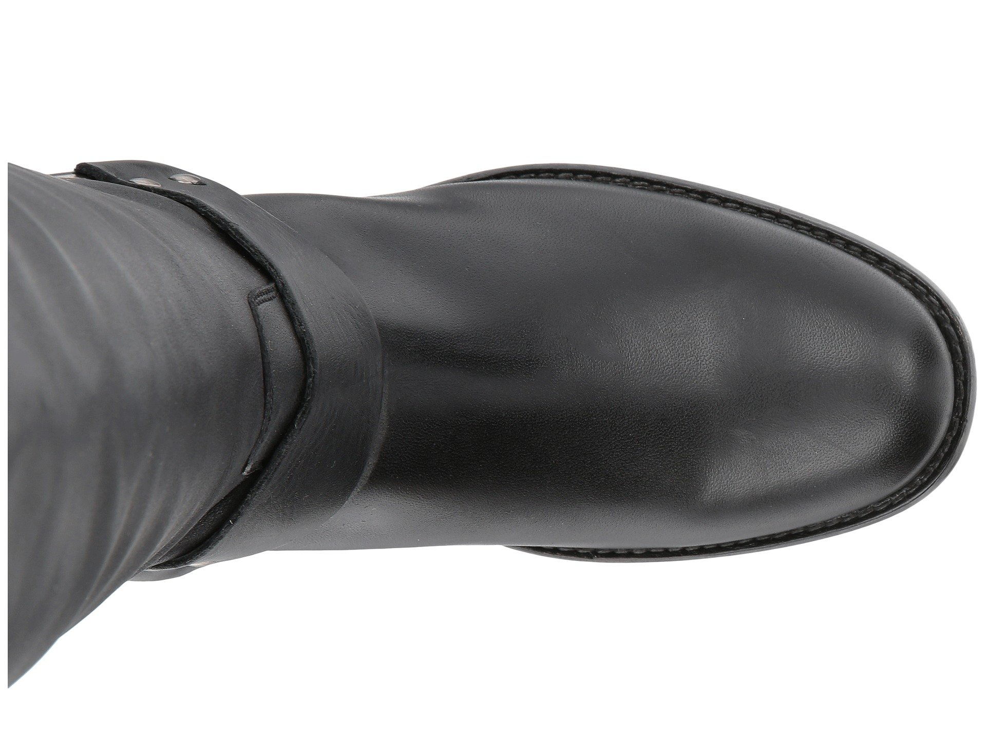 Calf Phillip Black Tall Veg Harness Waxed Wide Frye ZqIdZ