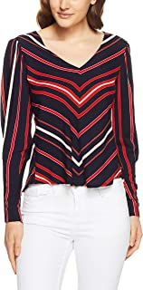 Bardot Women Zipped Sleeve Blouse