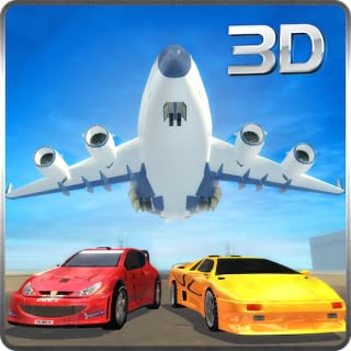 Racing Car Transport In Airplane Simulator 3D: Extreme Super Furious & Fast Car Cargo Flight Simulation Adventure Mission Game Free For Kids 2018