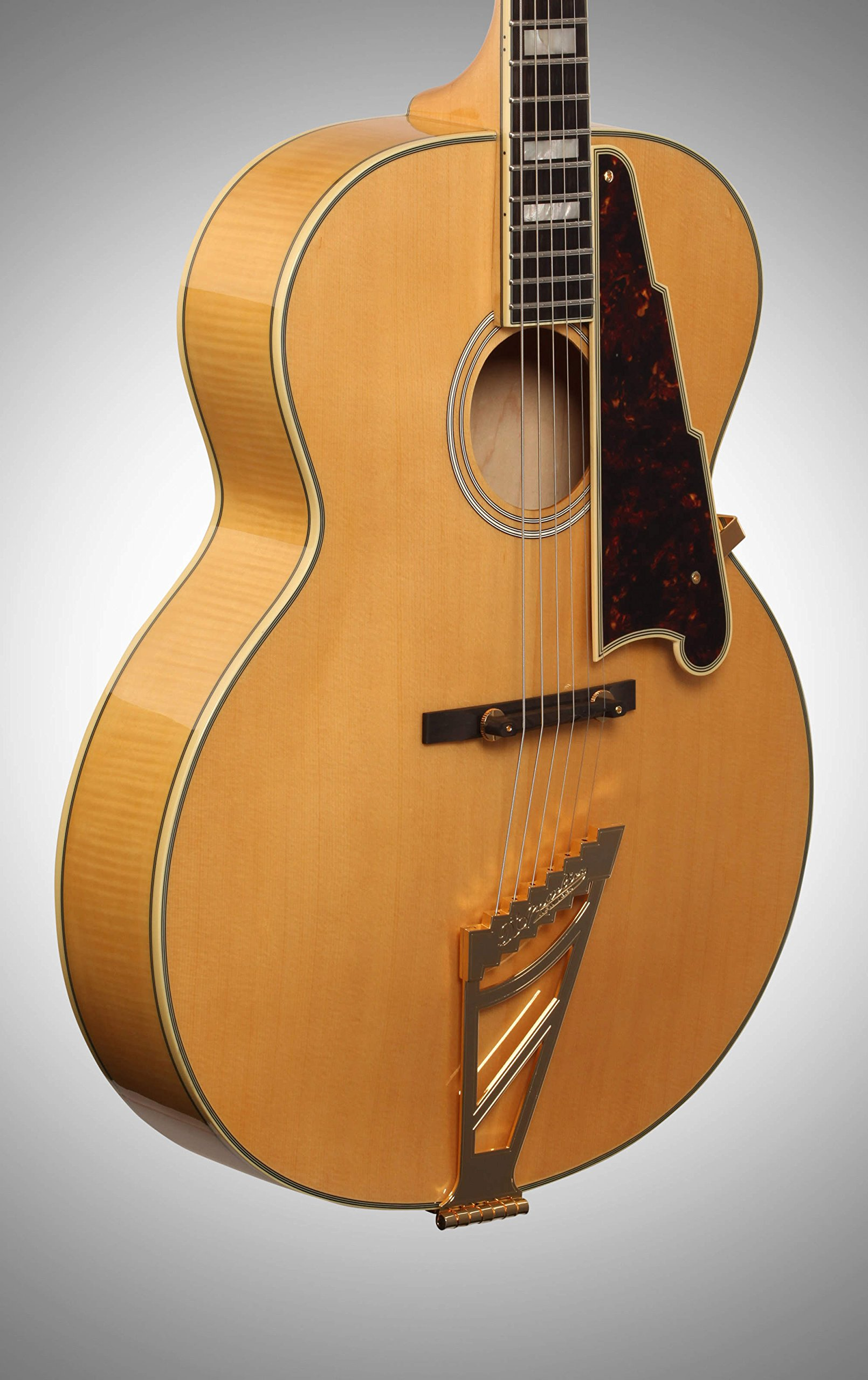 D angelico ex-63 Archtop guitarra acústica Natural: Amazon.es ...