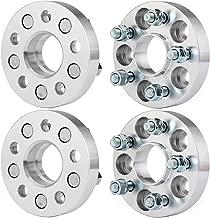 Wheel Spacers,ECCPP Replacement for Wheel Spacer Adapters 5 Lug 4X 1 or 25mm 5x100mm for Subaru BRZ/Subaru Baja/Subaru Legacy/Subaru Outback/Saab 9-2x/Scion FR-S 98-15 Subaru Forester 12x1.25 Studs