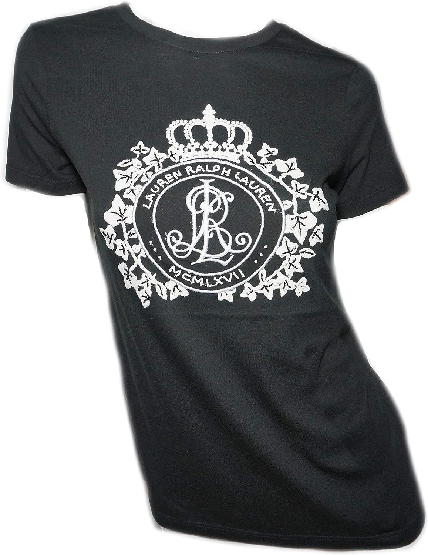 Lauren Ralph Lauren Womens T Shirt Black