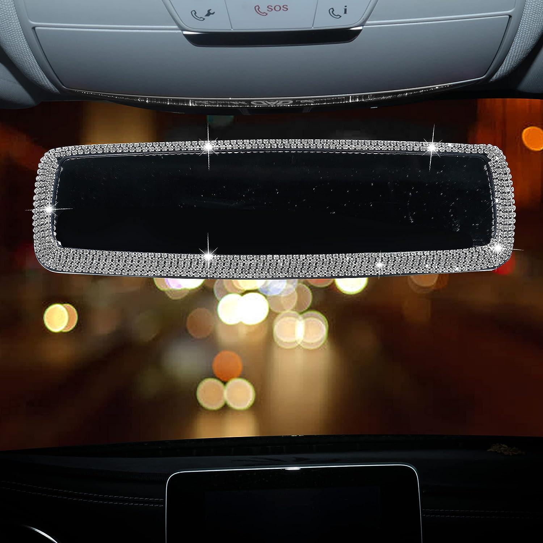 Bling Rhinestone Ranking TOP10 Diamond Ranking TOP2 Car Rear Mirror View Shiny Crystal