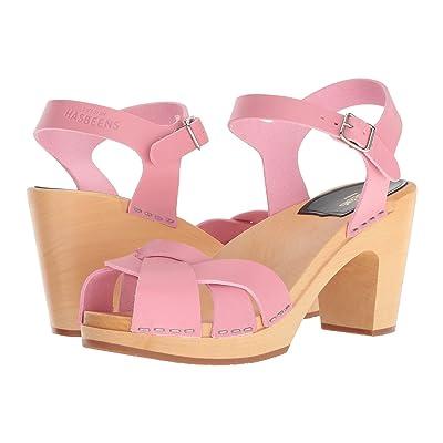 Swedish Hasbeens Kringlan (Bubble Gum Pink) High Heels