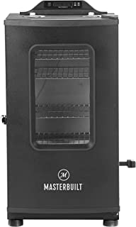 Masterbuilt MB20073519 30-inch Bluetooth Digital Electric Smoker with Grill + Finish Element, Black