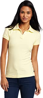 Uniforms Juniors' Stretch Pique Polo Shirt