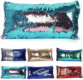 Tiaronics Magic Reversible Sequins Mermaid Pillow Cases Throw Pillow CoversDecorative Pillowcase 3060cm(1224