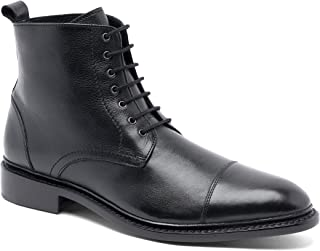 "Anthony Veer Men's Monroe Merino Wool Leather Lace-up 6"" Dress Boot"
