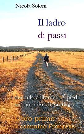 Il ladro di passi. Libro primo. Il cammino Francese: Duemila chilometri a piedi nei cammini di Santiago (con foto)