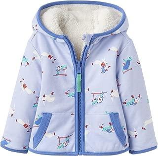 Joules Kids Mens Reversible Fleece Zip-Up Jacket (Infant)