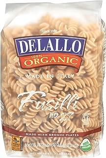 DeLallo, Pasta, Whole Wheat, Fusilli # 27, 16 oz