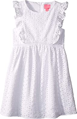 Resort White/Oval Flower Petal Eyelet