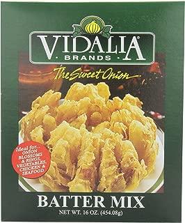 Vidalia Brand Sweet Onion Batter Mix, 16-Ounce (Pack of 6)