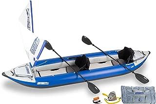 Sea Eagle Inflatable 420X Explorer Kayak QuikSail Package