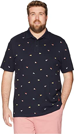 Nautica Big & Tall Big & Tall Short Sleeve Polo